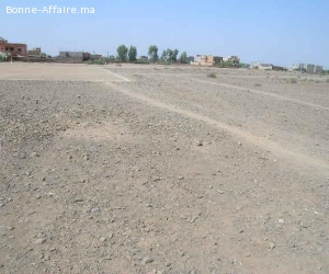Terrain 6 ha bord de route d'Ourika à vendre