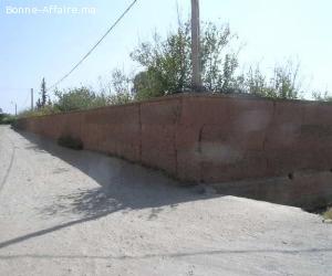 Terrain de 2 ha à vendre route de l'ourika