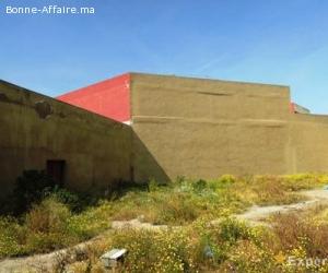 Terrain industriel de 1.000 m² Aïn Sebaâ