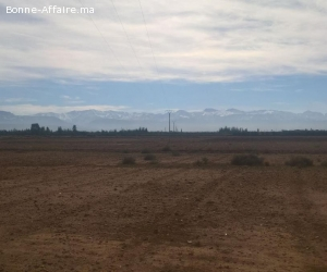 Terrain titré à sidi abdellah ghiate 15 km de Marrakech