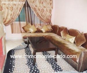 Très bel appartement meublé à Agdal Rabat