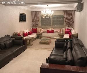 Un appartement de 128m a Casablanca Val Fleuri