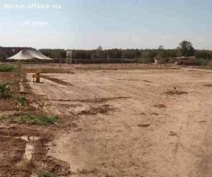 Urgent terrain à vendre avec projet autorisé