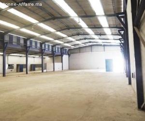Usine de 1500 m2 à Lissasfa, Casablanca