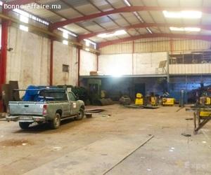 Usine de production et stockage 800 m² à Had Soualem
