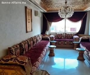 vente d'un appartement meuble