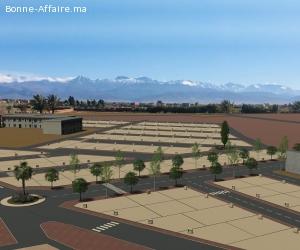 Vente d'un lotissement 7 hectares autorisés à Sidi Ghiat