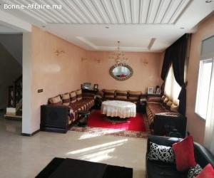 vente  d'une villa  meublée  a hay riad