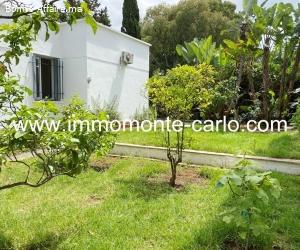 Villa avec jardin à louer proche de lycée Descartes Agdal