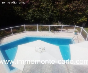 Villa avec piscine et chauffage central à louer  Hay Riad