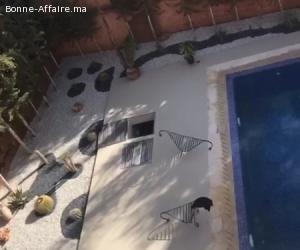 villa de 1600 m² à la route de l'ourika
