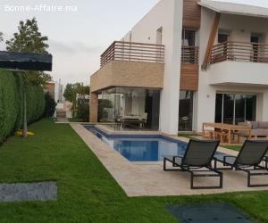 Villa de haut standing 766m² a Bouskoura