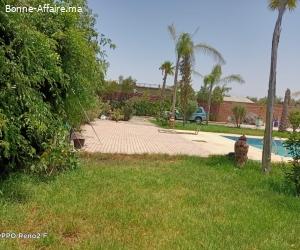villa en location 2000m² à la route de l'ourika