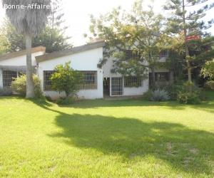 Villa en location à Rabat Souissi