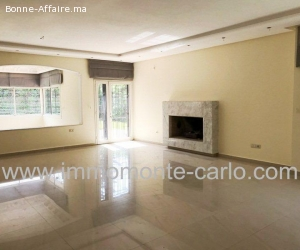 Villa moderne à louer Souissi Rabat