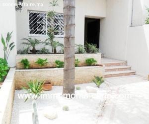 Villa neuve  moderne  à louer à Hay Riad