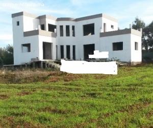 Villa semi finie 4400m² Darbouazza