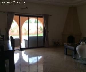 Villa sur un terrain de 1000m² a Marrakech