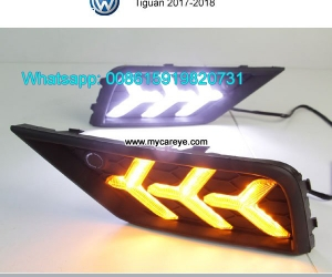 VW Tiguan Volkswagen DRL LED Daytime Running Lights daylight