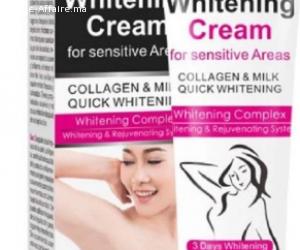Whitening cream for sensitive areas كريم مبيض للمناطق الحساس